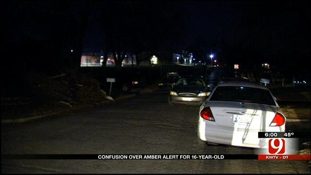 Amber Alert For OKC Teen Turns Out To Be Hoax