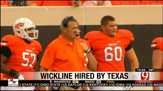 Wickline Official To Texas
