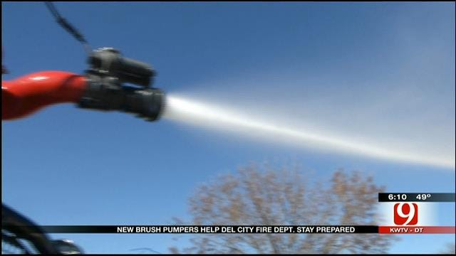 Del City Fire Department Gets New Brush Pumpers