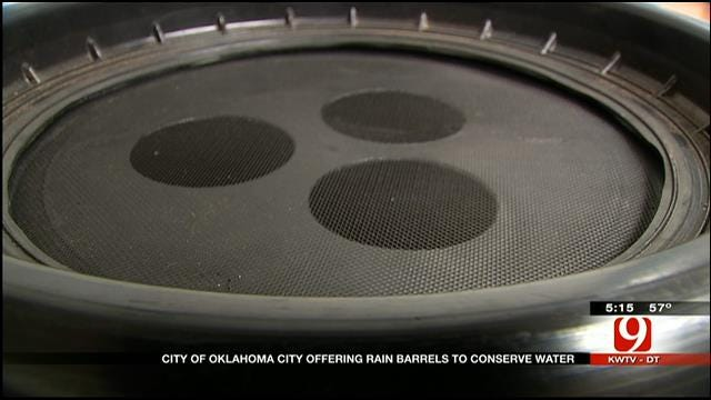 OKC Residents Encouraged To Invest In Rain Barrels