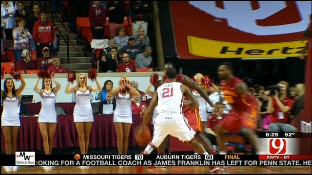 Sooners Grab Big Win Over Iowa State