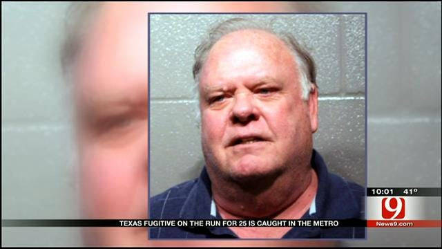 On The Run For 25 Years, Texas Fugitive Caught In OKC
