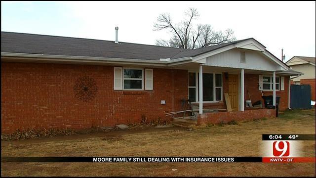 Moore Tornado Victims Still Experiencing Insurance Issues