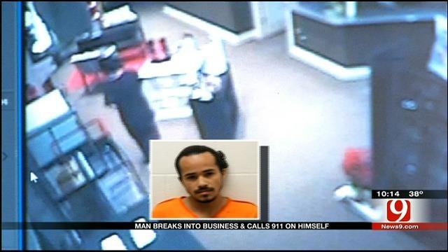 Burglar Gets Trapped Inside Ada Eye Care Center