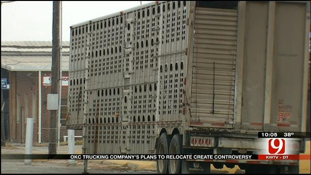 OKC Trucking Company's Plans To Relocate Create Controversy