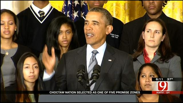 Choctaw Nation Selected As One Of President Obama's 'Promise Zones'
