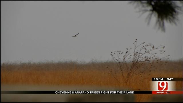 Cheyenne, Arapaho Tribes Fight Congress Over Land