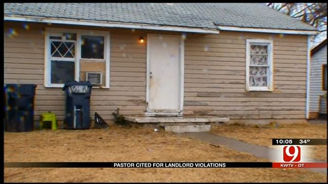 Moore Pastor Cited For Landlord Violations