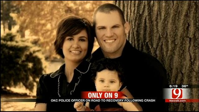 OKC Police Officer, UFC Fighter On The Road To Recovery After Car Accident