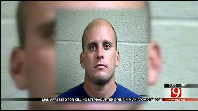 "McLoud Man Admits Killing Stepdad With ""Atomic Wedgie"""