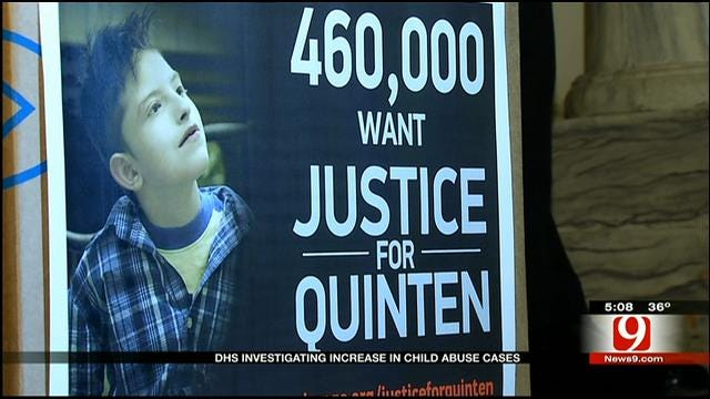 OK DHS Investigates Rise In Child Neglect, Abuse Cases