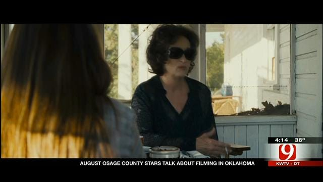 August Osage County Cast Talks About Oklahoma