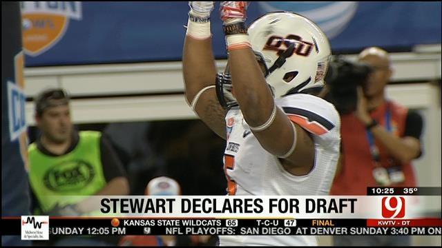 Stewart Leaving OSU Early