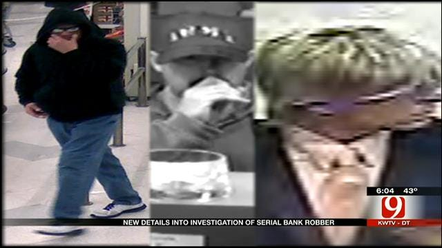 New Details Released In OK Serial Bank Robber Investigation