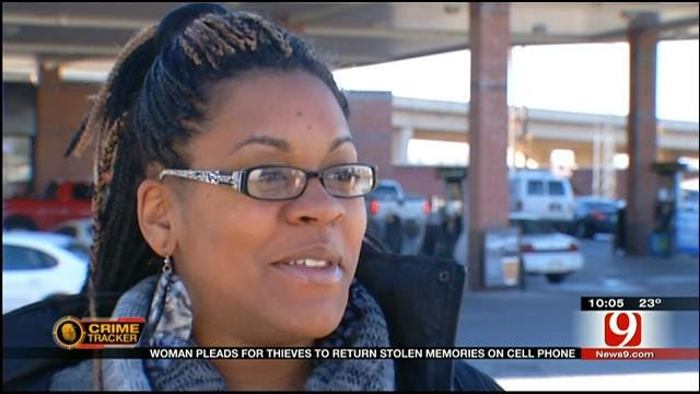 OKC Woman Pleads For Thief To Return Phone With Pregnancy Photos