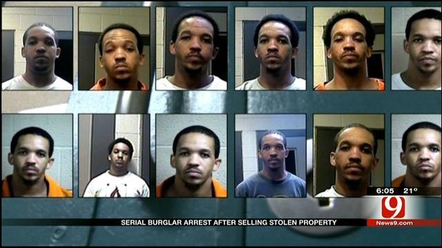 OK Serial Burglar Arrested Again For Selling Stolen Property