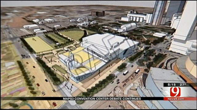 Debate Over OKC's MAPS 3 Convention Center Continues