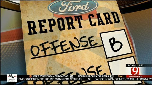 OSU Cotton Bowl Report Card