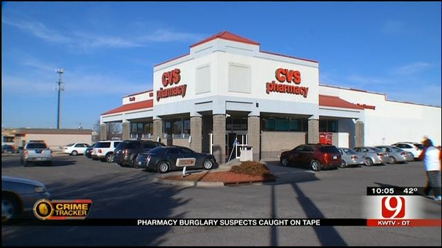 Police Release Surveillance Video Of OKC CVS Burglary