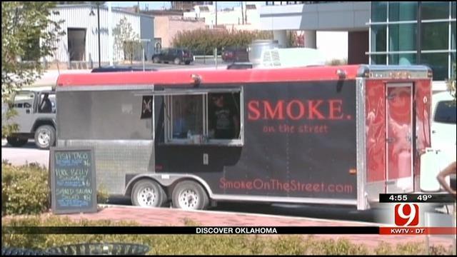 Discover Oklahoma: Tulsa's 'Food Truck Wednesday'