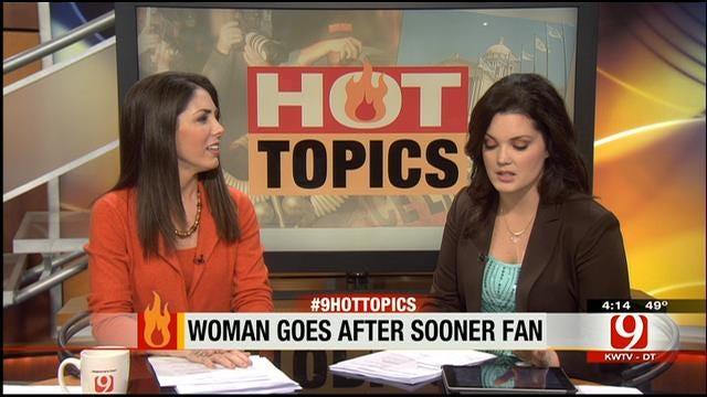 Hot Topics: Alabama Fan Attacks OU Fan