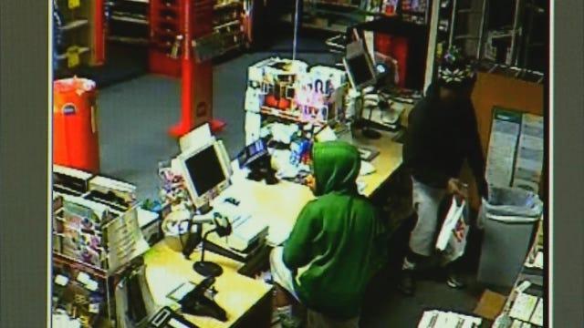WEB EXTRA: Surveillance Video Of OKC CVS Robbery
