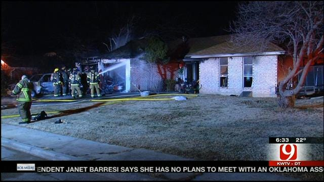 Yukon House Catches Fire While Family Watches Sugar Bowl