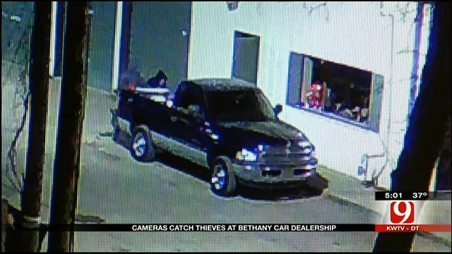 Cameras Help Catch Thieves At Bethany Car Dealership