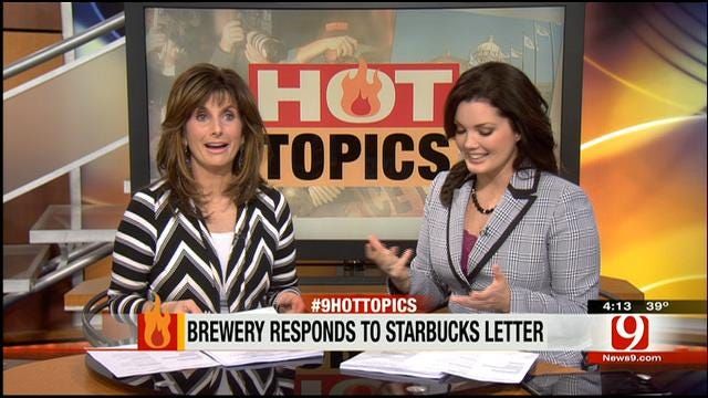 Hot Topics: Brewery Responds To Starbucks Letter