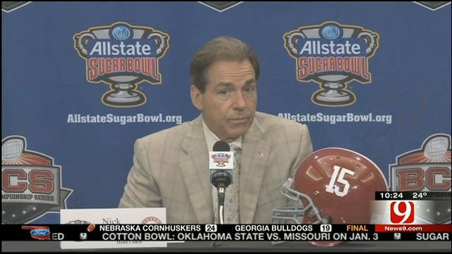 Alabama Will Be Ready To Face Oklahoma In New Orleans