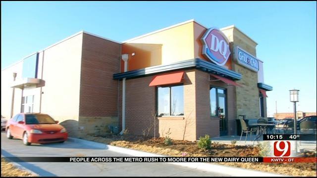 Dairy Queen Opens New Store In Moore
