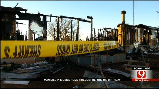 19-Year-Old Killed In Washita County Mobile Home Fire