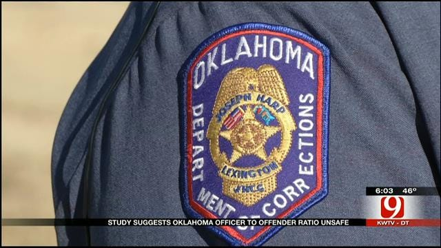 Study Suggests Oklahoma Officer To Offender Ratio Unsafe