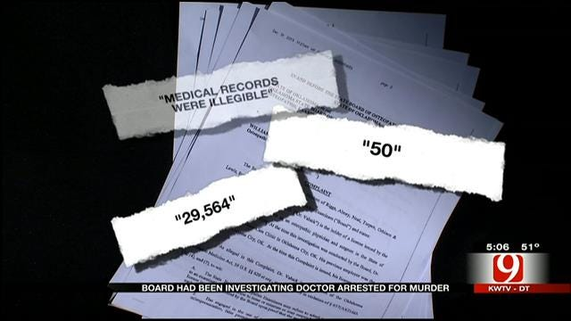 Former OK Doctor Accused Of Murder Under Investigation Since 2012