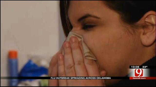 Number Of Flu Cases Climb Across Oklahoma
