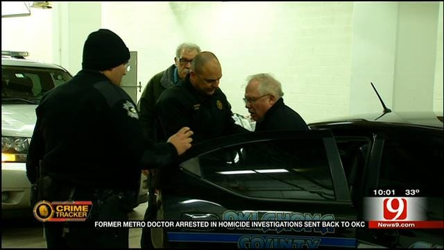 Doctor Accused Of Murder Booked In Oklahoma County Jail