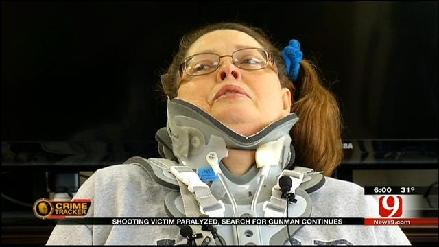 OKC Woman Shot, Paralyzed By Would-Be Robber Speaks Out