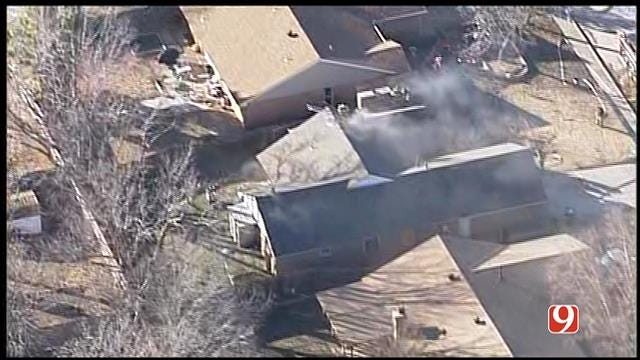 Firefighters Contain House Fire In Yukon