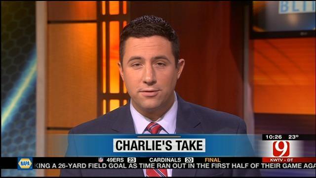 Charlie's Take: Tulsa Native Tyler Lockett Put On A Show