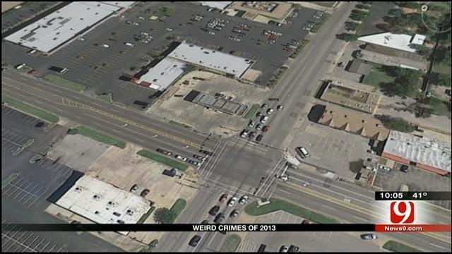 Strange Crimes Dot Final Days Of 2013 In OKC