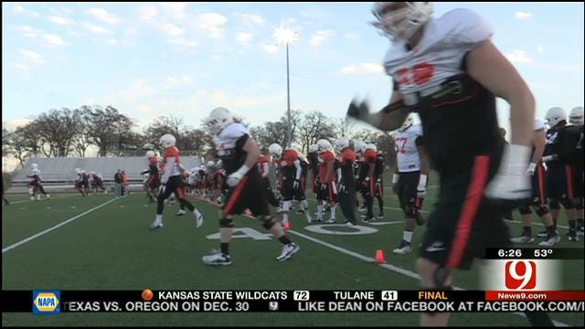 Cowboys Gearing Up For Cotton Bowl