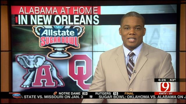 Sooners Preparing For A Tough Test With Alabama