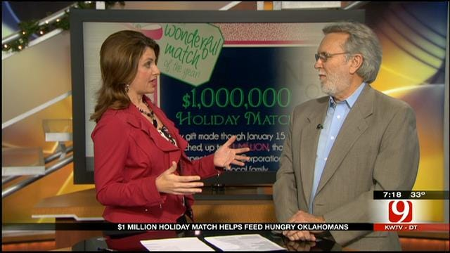 $1M Holiday Match Helps Feed Hungry Oklahomans