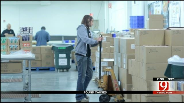 Found Causes: Regional Food Bank