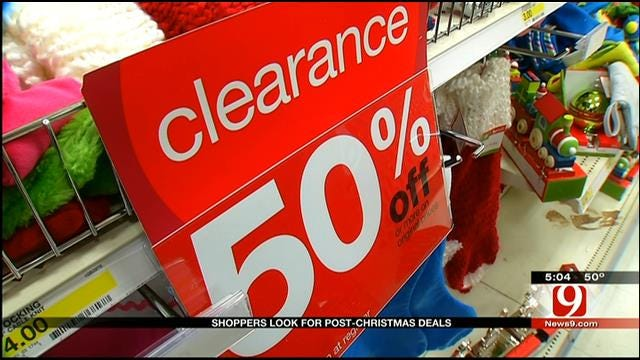 OKC Businesses Hope For Boost After Slow Holiday Sales Season