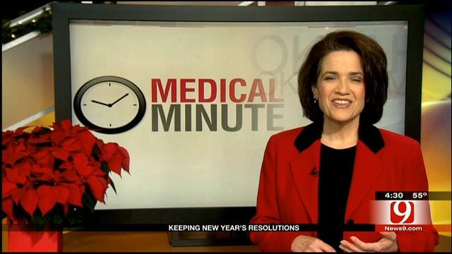 Medical Minute: Keeping NYE Resolutions