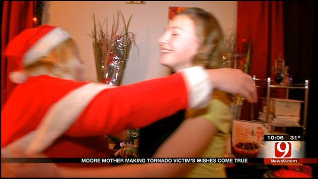 Moore Mother Making Tornado Victims' Wishes Come True