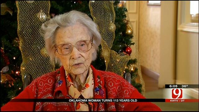 OKC Woman Celebrates 113th Birthday On Christmas Eve