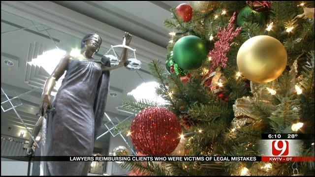 Oklahoma BAR Association Reimbursing Victims Of Legal Mistakes