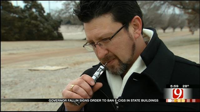 Oklahomans Respond To Gov. Fallin's E-Cig Ban On State Property